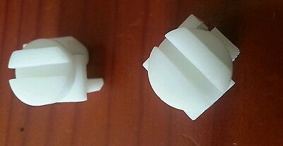 Map Pocket seat Clips x2 commodore VT VX VU VY VZ WH WK WL new genuine Statesman