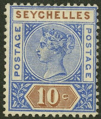 Seychelles  1890-1900  Scott # 7a  Mint Hinged