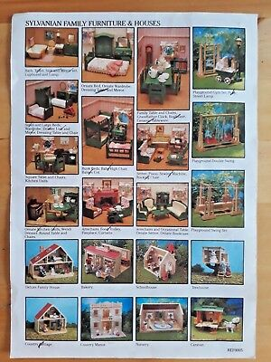 Sylvanian Families Vintage 1980s Furniture - Choose Items
