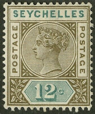 Seychelles  1890-1900  Scott # 8  Mint Lightly Hinged