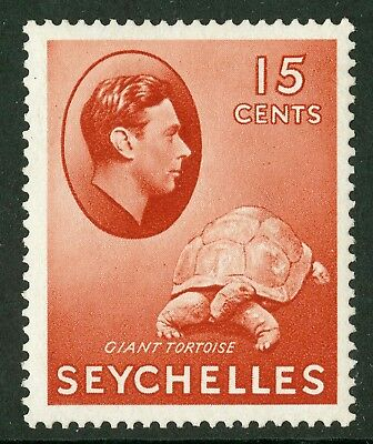 Seychelles  1941-49  Scott # 133a  Mint Never Hinged - Chalky Paper