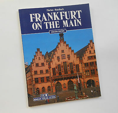 Germany Frankfurt on the Main 1990 Color Booklet English Ed. by Florian Mausbach