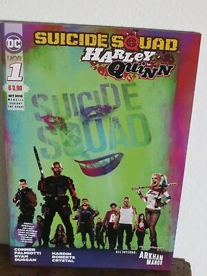 Suicide Squad - Harley Quinn 1 - variant - RW Lion - The Space Cinema