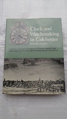 Clock and Watchmaking in Colchester book