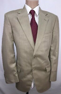 Brooks Brothers Mens Suit Jacket Blazer Sports Coat Sz 40R  Silk Wool Linen