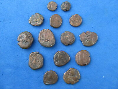 Rare and Scarce  Lot (14)coins of Elymais 2nd cent. B.C. to 2nd cent. A.D..