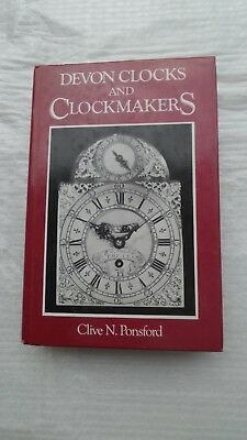 Devon clockmakers  book by Ponsford