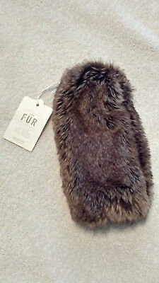 Baby & Child Restoration Hardware Luxe Faux Mink Fur Muff Wrist Warmer NWT Girls