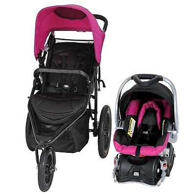 Jogger Stroller Car Seat Combo Travel System Baby Trend Stealth Viola