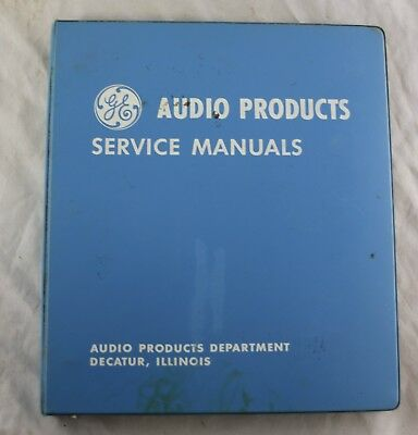 Vtg 1967 Audio Service Manuals -Stereo Console Turntables, Tuners, Reel to Reels