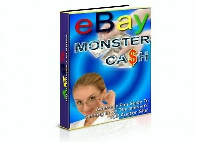 eBay Monster Cash PDF eBook with Master Resell Rights