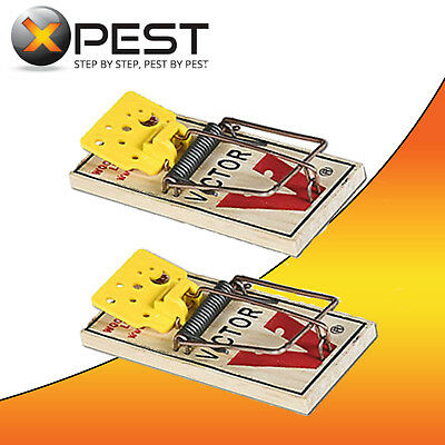 Victor Easy Set Mouse Trap (2 Pack)