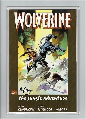 Wolverine The Jungle Adventure 1990 Signed by Hellboy Creator Mike Mignola
