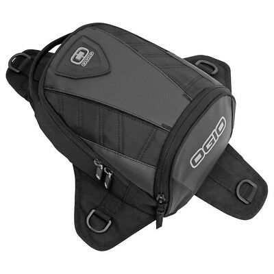 Ogio NEW Supermini Stealth Adventure Tail Pack Black Motorcycle Tanker Bag