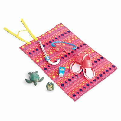 American Girl Lea's Beach Accessories ~ Goty 2016 ~ Retired Product ~ New In Box