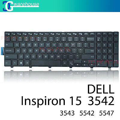 Laptop Keyboard for Dell Inspiron 15 3000 Series 3541 3542 Series Black US