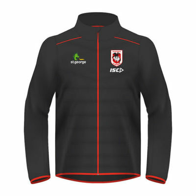 St George Illawarra Dragons 2017 Nrl Mens Combination Jacket New With Tags