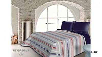 Dorte Home-BOUTI Quilt Blanket Reversible Eric for Single Bed in Measure 180...