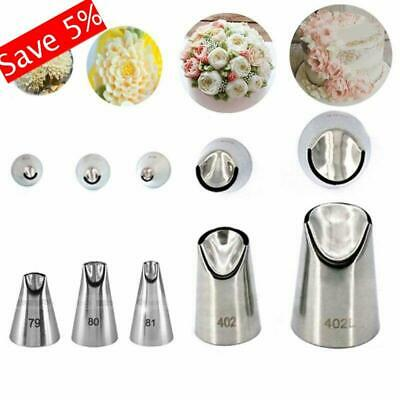 1Pc Russian Nozzle Juju Tulip Stainless Steel Icing Piping Tip DIY Pastry Decor!