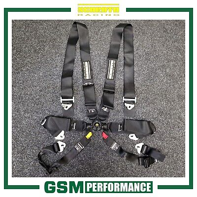 Schroth Hybrid Iii 6 Point Harness / 40092 / Black / 2022 Dated