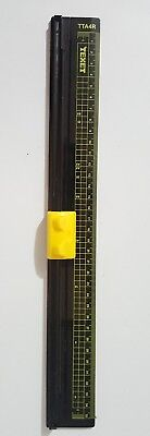 Paper Trimmer A4 A5 Precision Rotary Guillotine Photo Cutter Ruler TEXET USED