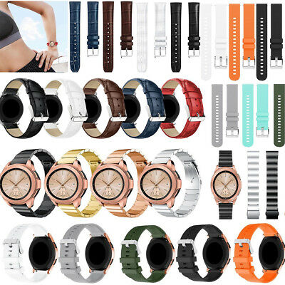 Silicone/Leather Replacement Watch Band Bracelet For Samsung Galaxy Watch 42mm