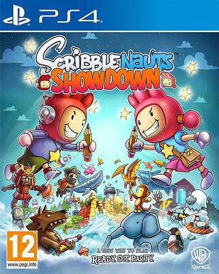 Scribblenauts Showdown PlayStation 4 PS4 Brand New Factory Sealed FAST DISPATCH