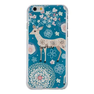 Ultra Thin Hard Shock-proof Deer Mobile Phone Cases For Iphone 6Plus LEBB