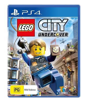 LEGO City Undercover PlayStation 4 PS4 Brand New Factory Sealed FAST DISPATCH