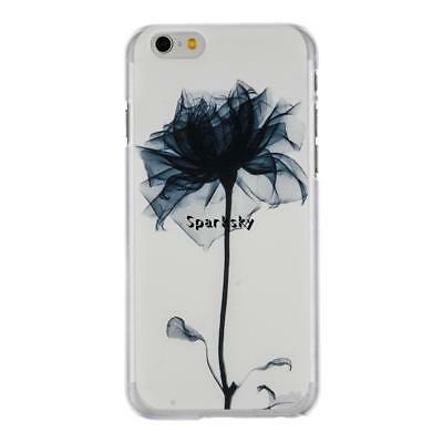 Ultra Thin Hard Shock-proof Flower Pattern Mobile Phone Cases For Iphone LEBB