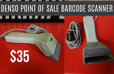 Denso Handheld POS Barcode Scanner - Used