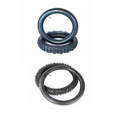 "70/100-17"" Front + 90/100-14"" Rear tyre inner tube 2.75-17 Pit dirt bike Trail H"