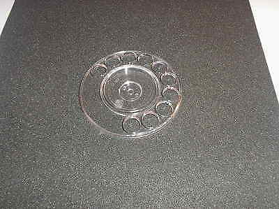 700 Series GPO TELEPHONE - CLEAR Dial Finger Wheel - NEW - FREE P & P