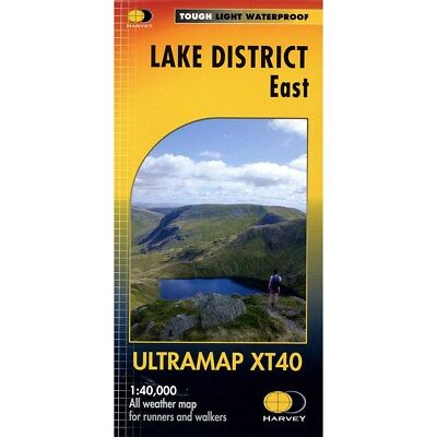 Lake District North Ultramap by Harvey Map Services Ltd
