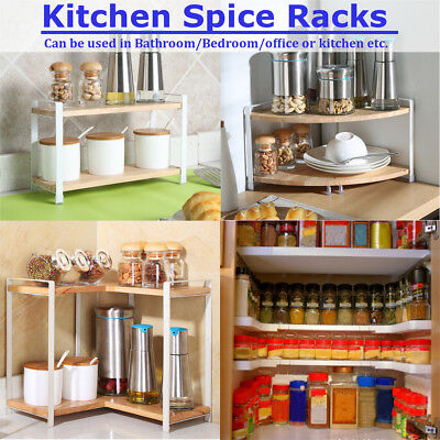 Spice Stack White Spice Rack Organizer For 27 Spices Counter Top