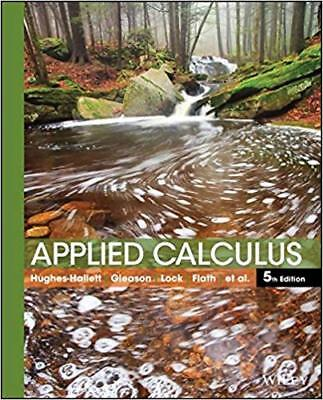 [PDF] Applied Calculus 5th Edition by Deborah Hughes-Hallett - Email Delivery