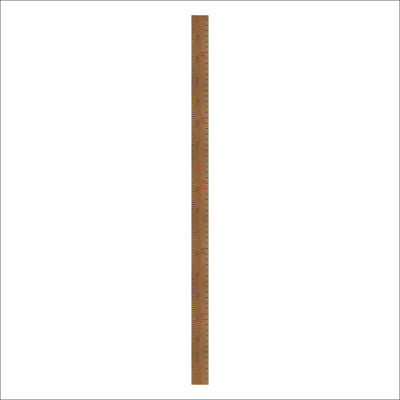 Wood Like Children Height Measurement Baby Growth Chart Baby Height Ruler W W4L3