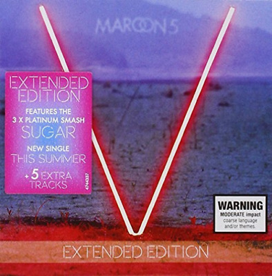 Maroon 5-V (Repack Edition) CD NEW