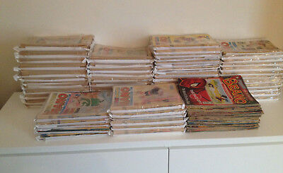 The Beano Comic Huge Bundle x1020 Issue Run UK Comic Dandy Dennis Menace Retro