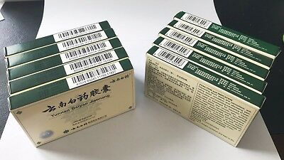 NEW Authentic 10 Boxes Yunnan YNBY Baiyao 10x16=160 Capsules Seller First Aid