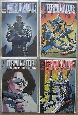 Terminator Secondary Objectives #1-4 Dark Horse Comics Nm Unread Complete Set