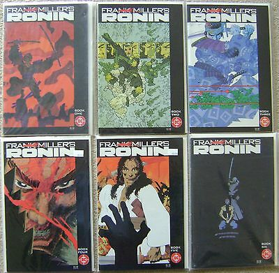 Ronin #1-6 Dc Comics Bronze Age 1983 Vf To Nm Unread Complete Set Frank Miller