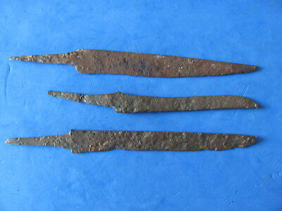 RARE Lot (3)  ANCIENT Roman - Medieval Iron Knives