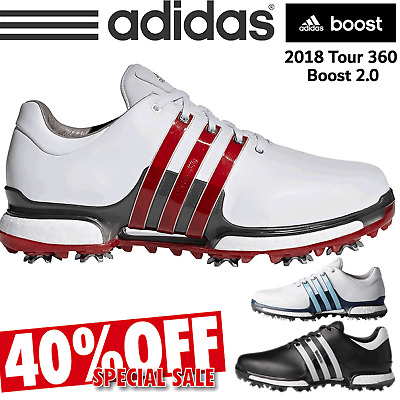 Adidas Tour 360 Boost 2.0 Waterproof Leather Mens Golf Shoes New 2018 All Sizes