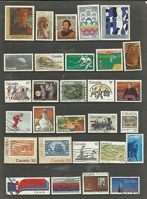CANADA 29  Different used Pictorials