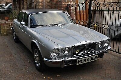 1975 Daimler Sovereign 4.2 LWB Just 53,750 and a ultra rare factory power s/roof