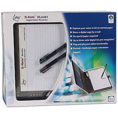 Lapazz D-Note Portable Digital Note Pad Recorder, DLA 401.