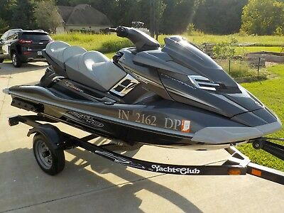 2012 YAMAHA FX Sho Cruiser Waverunner -Mint Condition!-62 Hours-Trailer &  Cover