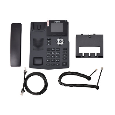 NEW X3SP Fanvil IP Phone Black Color With 2.4 Inches Color LCD Display FAST Ship