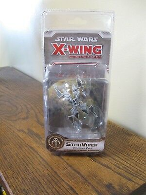 New! Star Wars X Wing Miniature Expansion Pack : STARVIPER